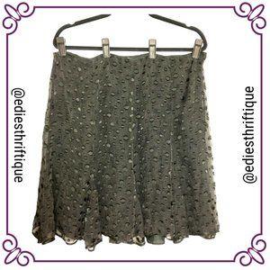 3/$25 Studio M Petite Black Skirt
